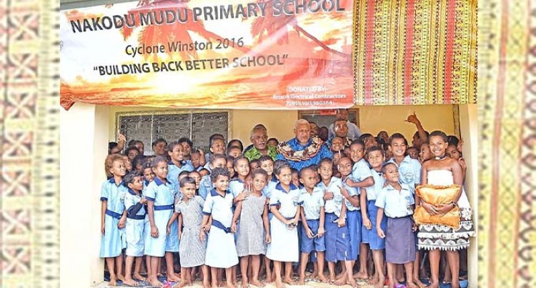 PM Opens New School For Resilient Koro Islanders