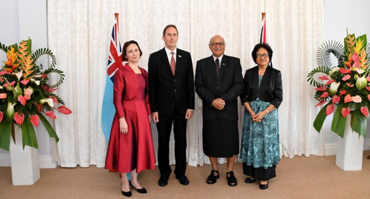 New British High Commissioner To Fiji Settles In