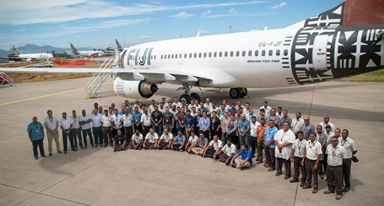 Fiji Airways Farewell DQ-FJF