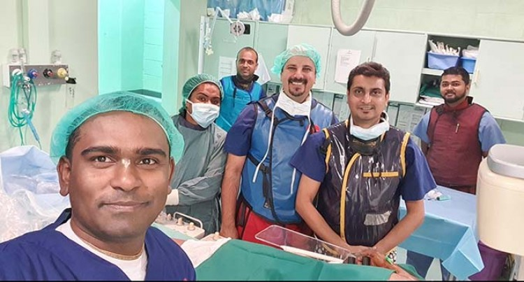 Fiji's First Stent Operation Conducted Here By Local Cardiologists