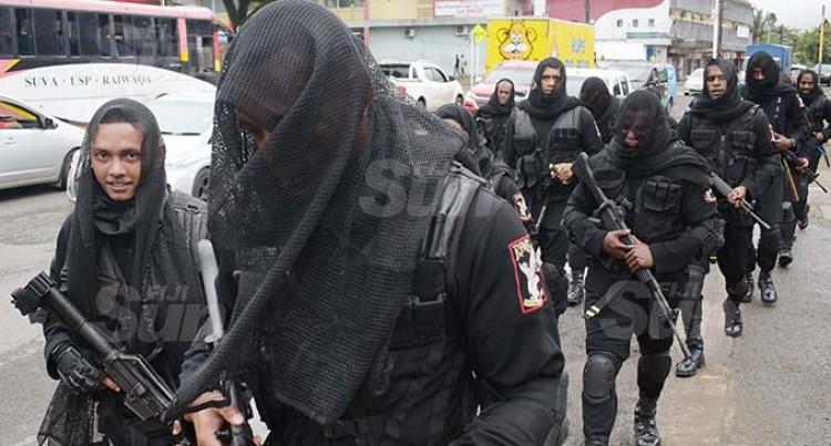 RFMF Martial Arts Team In Black