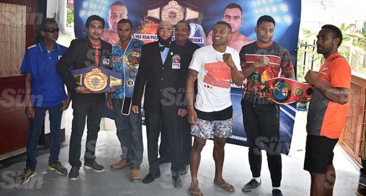 Naidu, Ravudi For WBF Title Fight