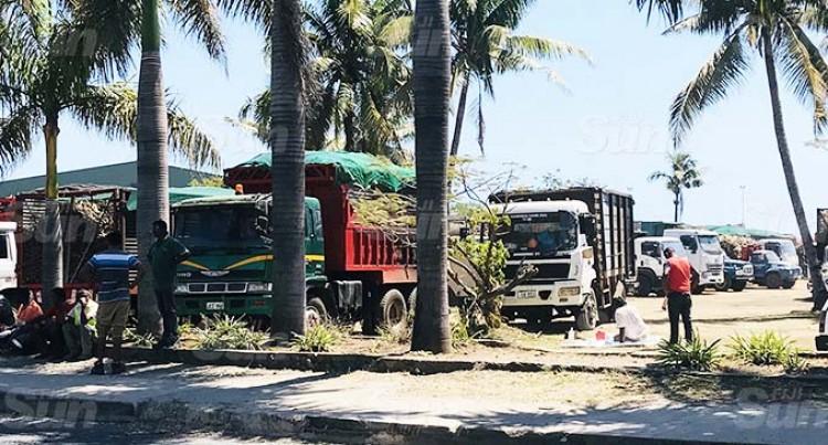 Sugarcane Trucks Diverted To Lautoka