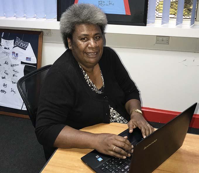 Fiji Sun Publications editor Karalaini Waqanidrola.