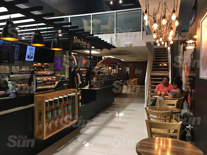 The interior of the Gloria Jean's cafe at Damodar Plaza Village 6 on August 31, 2020. Photo: Frederica Elbourne