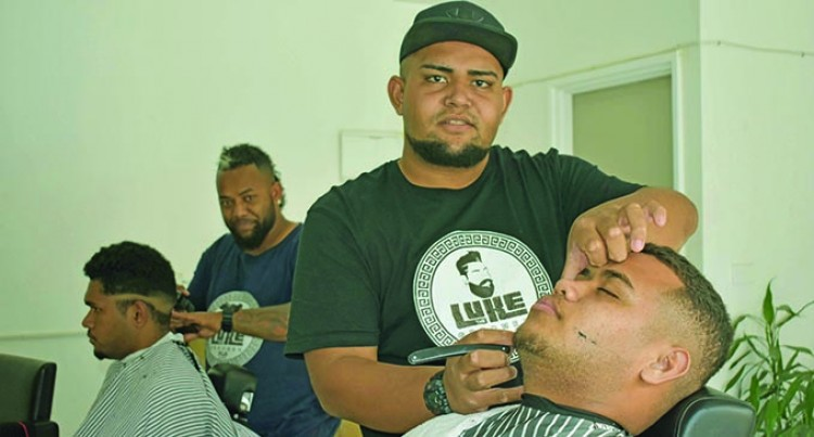 School Dropout Opens Barber Business In Nadi