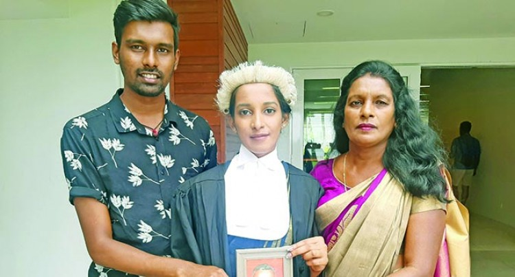 Manisha Motivated By Justice For Her Late Father
