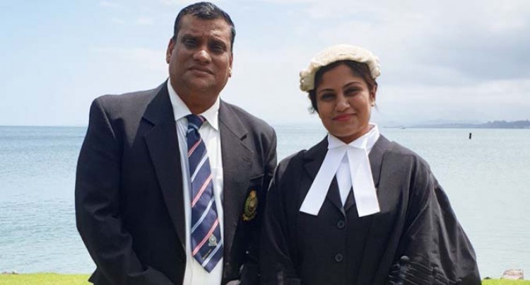 Dad Is My Role Model: Lawyer Mishra