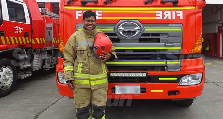 Trailblazer Rokowati Crocker Leads Firefighters