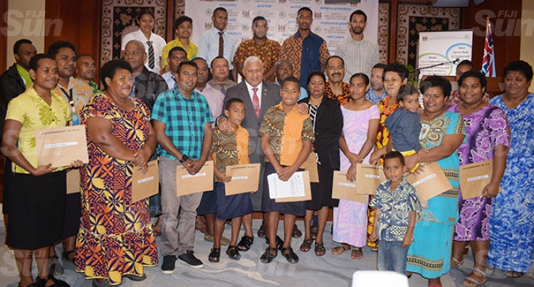 $494,000 Handed Over To Families, Individuals
