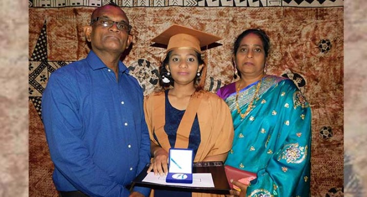 Shivani Scoops Geospatial Science Gold Medal