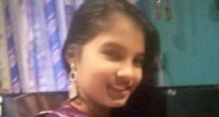 MISSING: Avylin Nikita Reddy