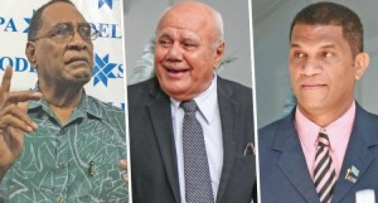 Candidates Defy Call By Extremist Elements To Boycott Fiji Sun In Contest For New Party Leader
