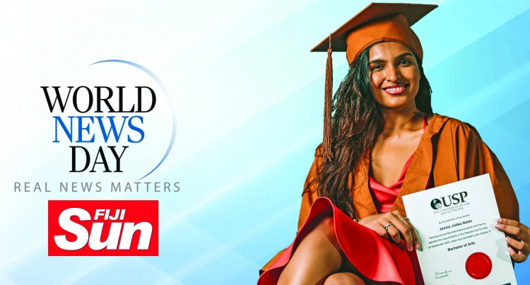 World News Day, Fiji Sun Presents Jennis Naidu