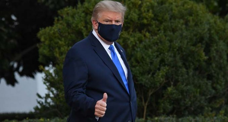Trump Heads To Hospital After Contracting COVID-19