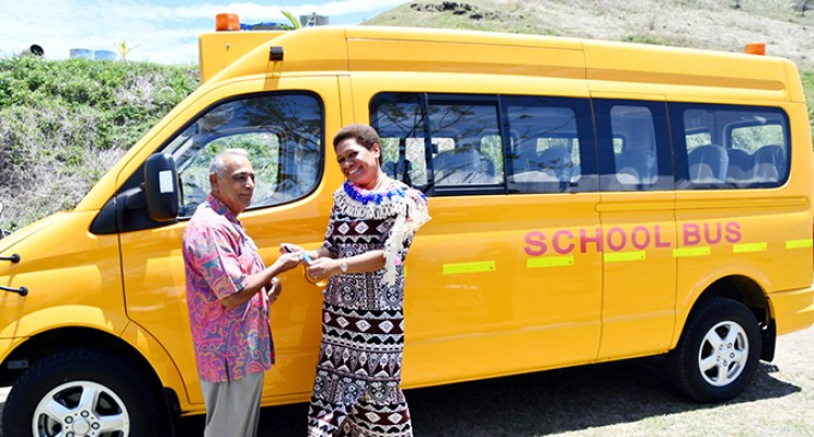 Minister Vuniwaqa Delivers Minibus As Requested