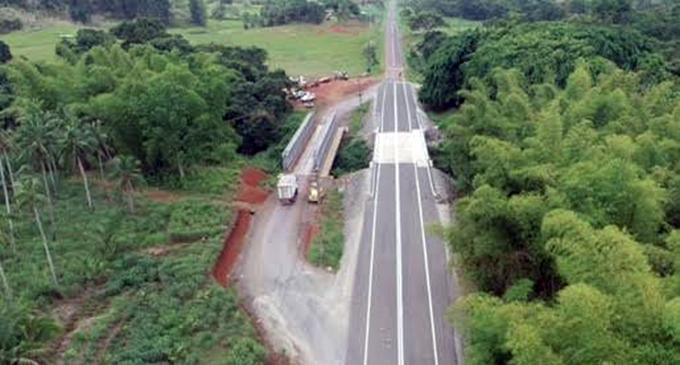 The new Korovuli Bridge