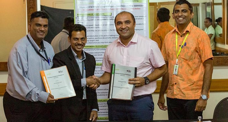 FCCC Signs Voluntary Compliance Framework With Jack's Of Fiji