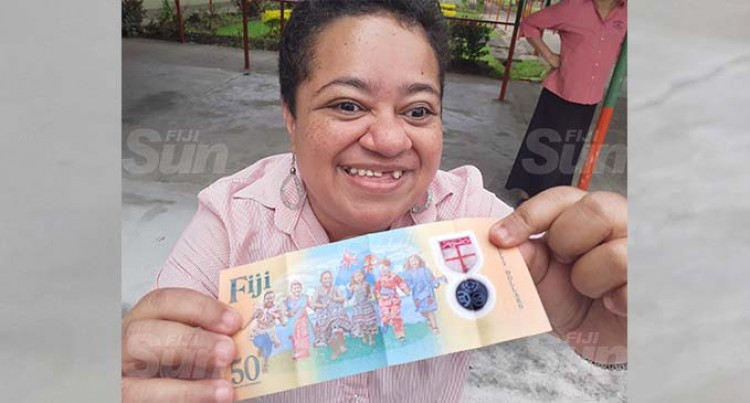 Blind Society Thankful For Braille $50 Note