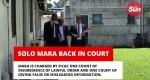 Solo Mara Back In Court