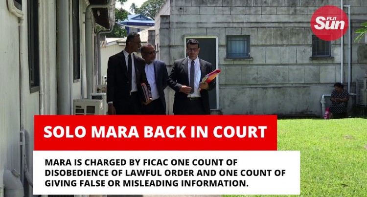 Solo Mara Back In Court