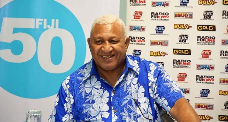 PM Launches Official Fiji50 Song