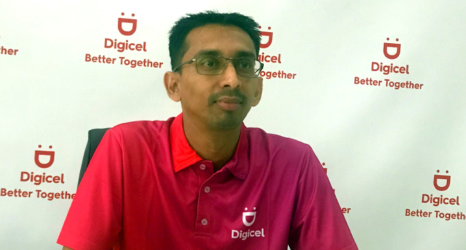 Digicel chief executive officer Farid Mohammed.