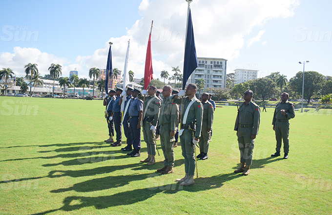 RFMF, RFMF Naval division and Police personnel during Fiji 50th Independence Day parade rehearsal at Albert Park in Suva on October 7, 2020. Photo: Ronald Kumar.