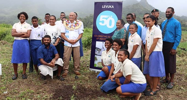 Fiji50: President Tours Old Capital Where It All Began