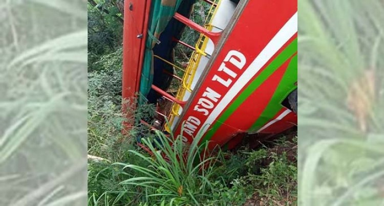 Bus Accident In Naduri Claims Life Of Woman