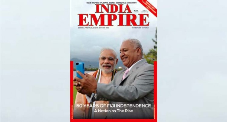 Indian Monthly Magazine Features PM Bainimarama And PM Modi