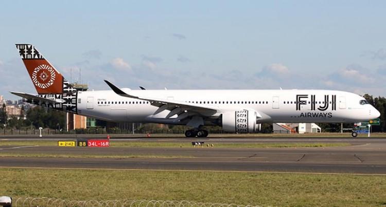 Fiji Airways Sydney Passengers And Cargo Flight Scheduled For Oct 27