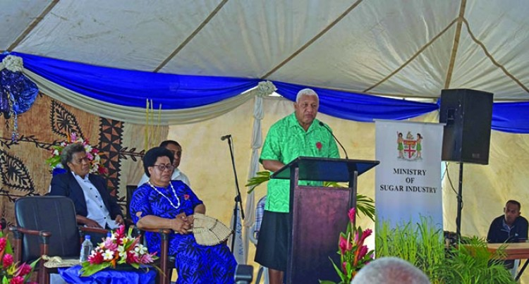 Editorial: PM Bainimarama 'S Commitment To Help Cane Farmers And Our Youths
