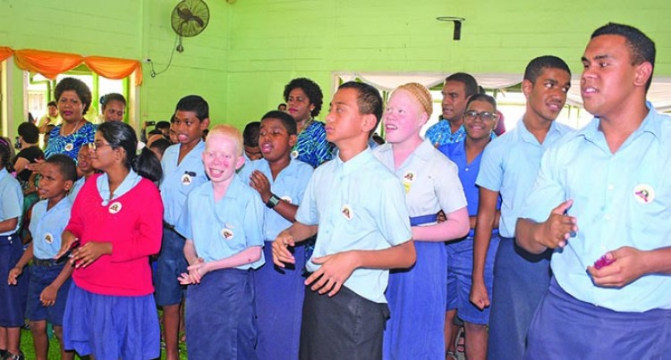 PM Bainimarama Hails Blind Society For Service