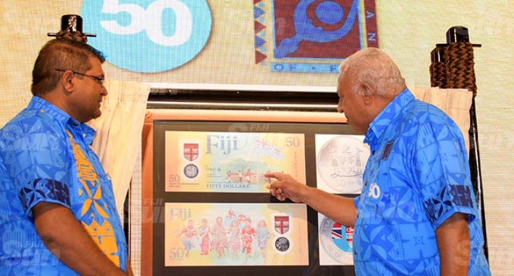 Commemorative Currency Launch To Mark Fiji 50