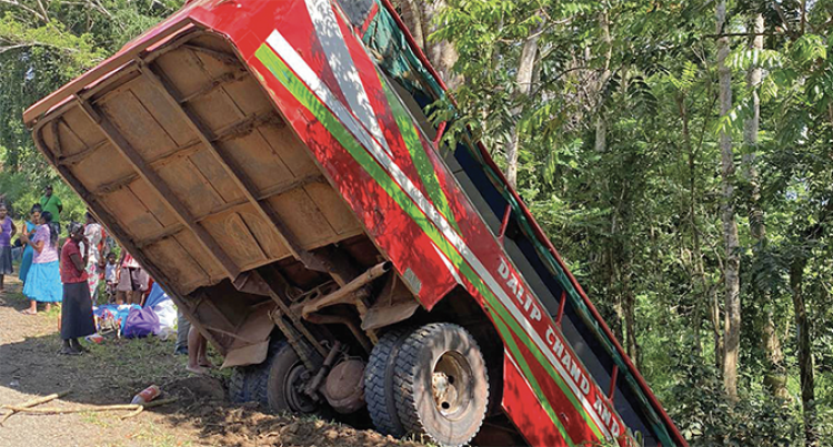 Yalava Bus Crash Injures 40, Passenger Tells