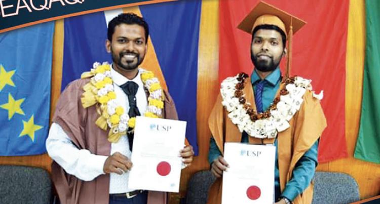 Seaqaqa Brothers Graduate