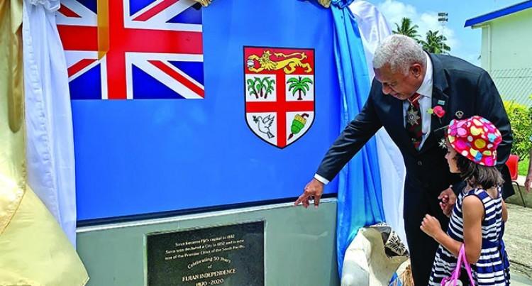 Monument Marks Fiji's History And Strive Forward