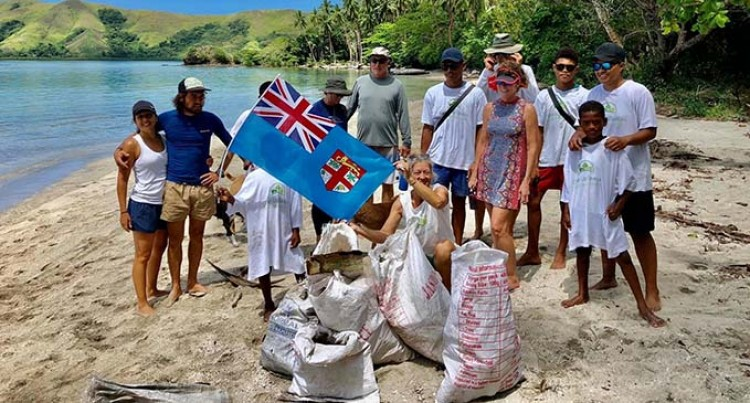Community Marks Fiji Day With Beach Clean-up
