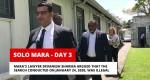 Solo Mara – Day 3 In Court