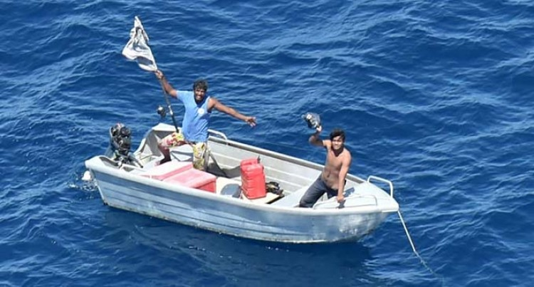 Kiribati Fishermen Safe After Successful Joint Operations