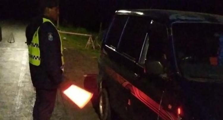 Nine Arrested For Curfew Breach