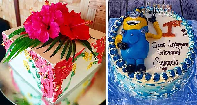 Cakes baked and decorated by Josese Cagica
