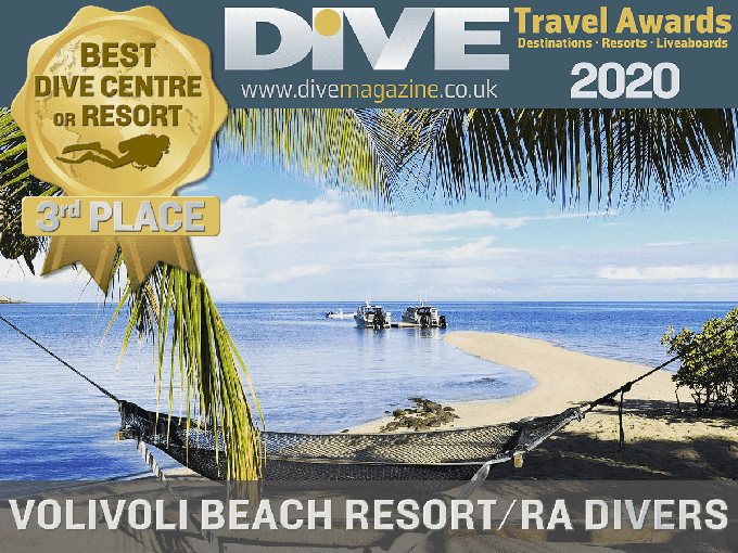 Dive Travel Awards 2020 - 3rd place