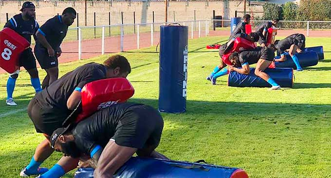 Fiji Rugby Autumn Rugby Training 02