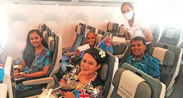 Let's Go Local: Fiji Airways – FJ679 Business Class Cabin Sold Out