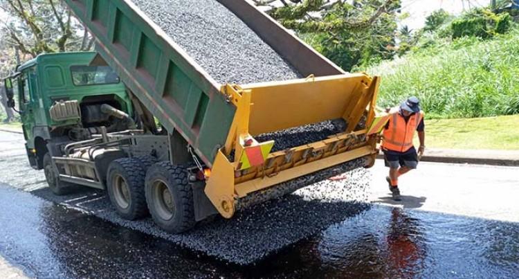 Roadworks Boost Greater Suva Area