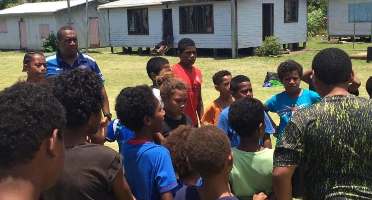 Moturiki Kids Benefit From Rugby Clinic