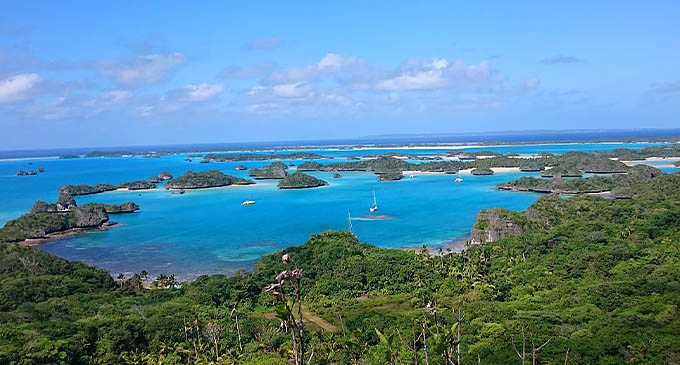 Fulaga, in the Lau group, is located South West of Suva, and is among the furthest of islands in the Lau group.