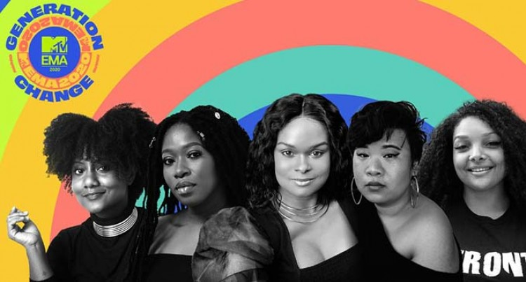 MTV EMAs To Honour Five Women Fighting For Racial, Social Justice